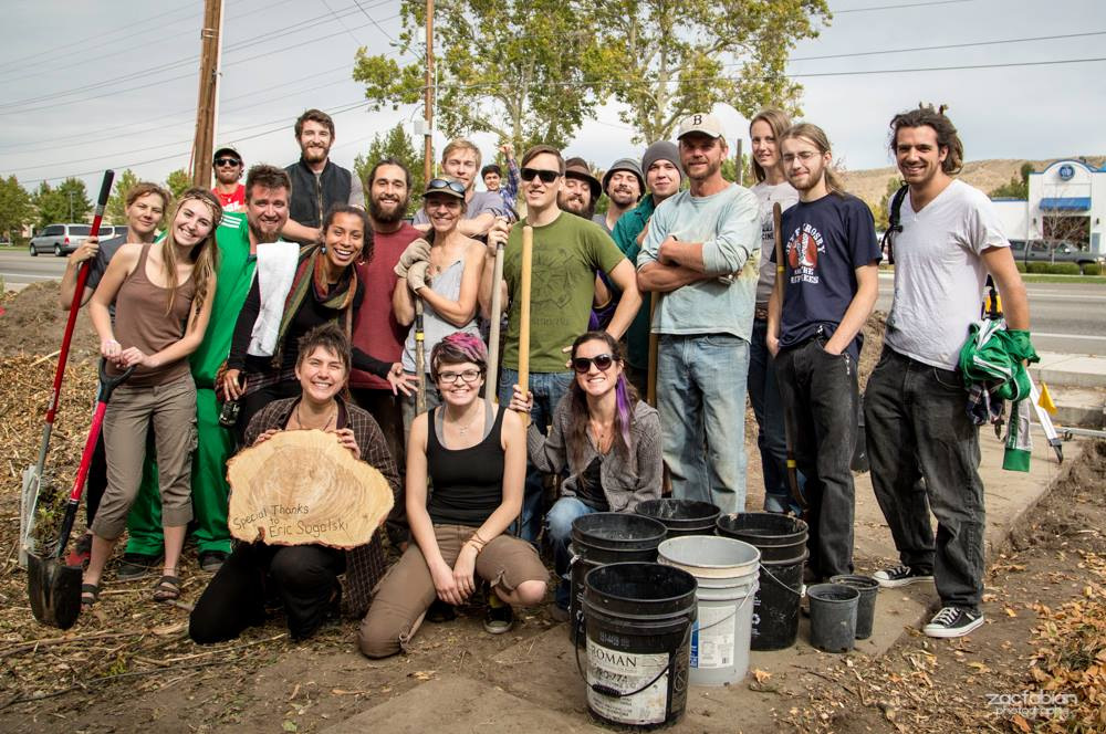 Permaculture Action Day in Boise, Idaho