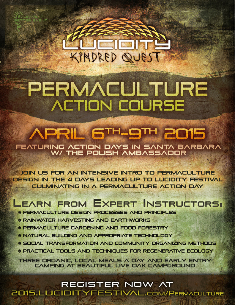 Permaculture Action Course Flyer