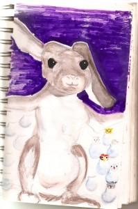 Mabel Rabbit, by Noah Crowe
