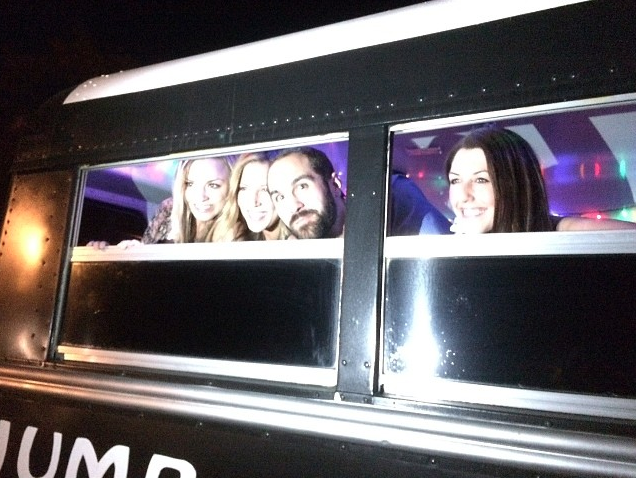 Jump on the School Bus lets you start the party on the way to Lucidity!