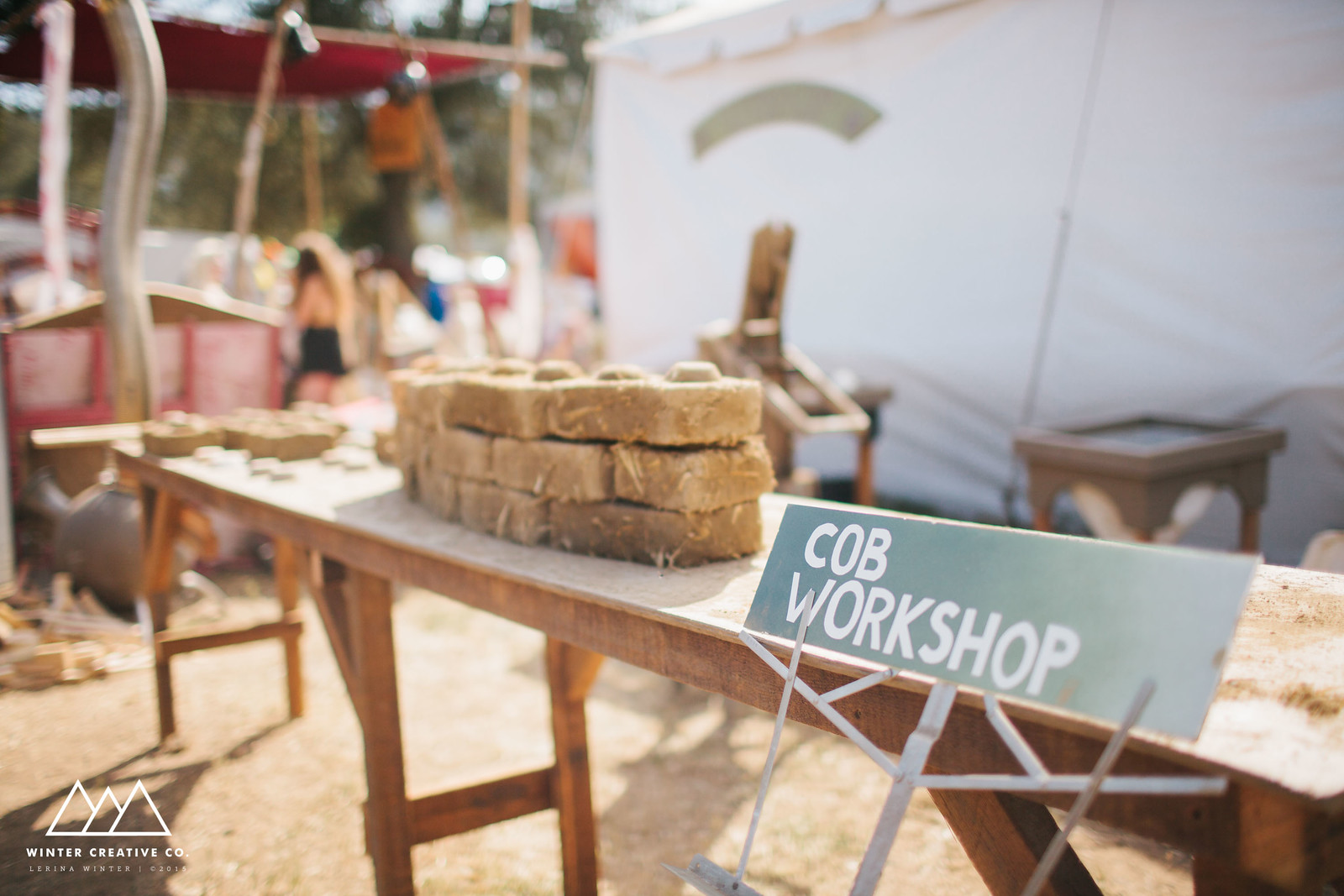Cob Workshop by WInter Creative Co