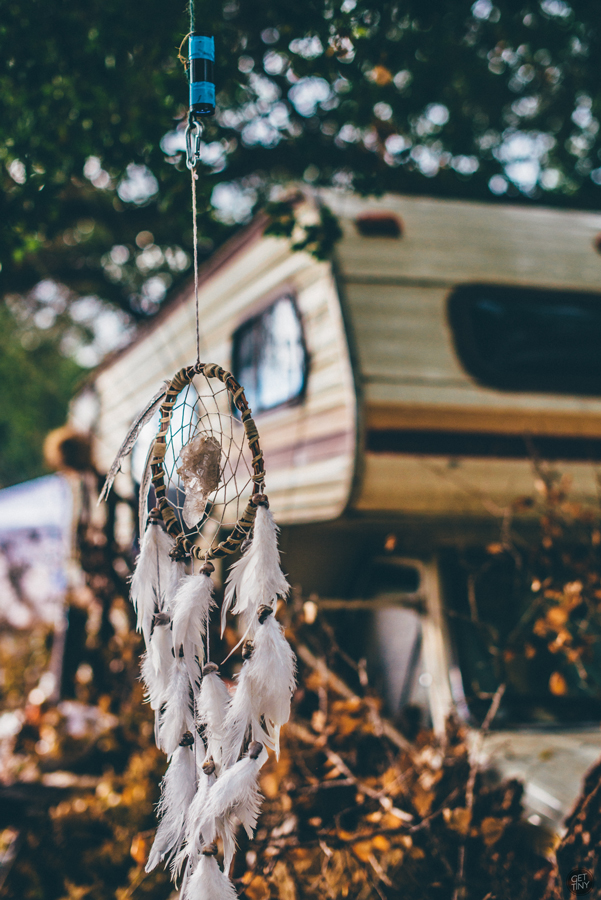 Dream catcher. Photo by Get Tiny Photography.