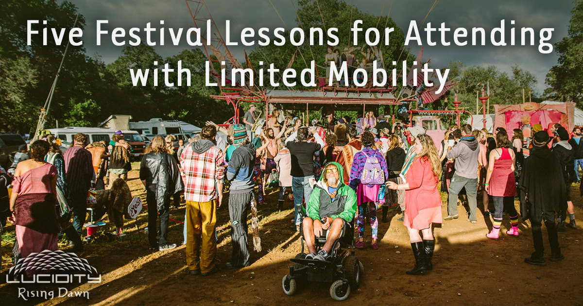 Festival Lessons for Attending with Limited Mobility