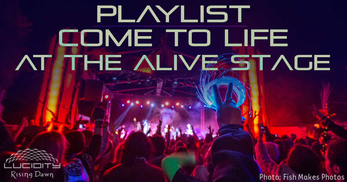 Come to Life at the Alive Stage